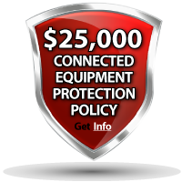 $25,000 - Connected equipment Protection Policy